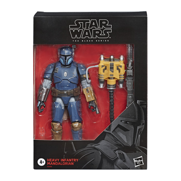 STAR WARS The Black Series  Heavy Infantry Mandalorian