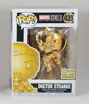 POP Marvel: MS 10 - Doctor Strange (Gold Chrome) #439