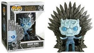 POP Game of Thrones Deluxe: Night King With Throne #74