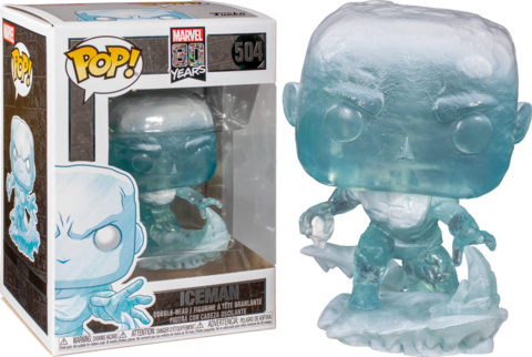 POP Marvel: 80th - Iceman #504
