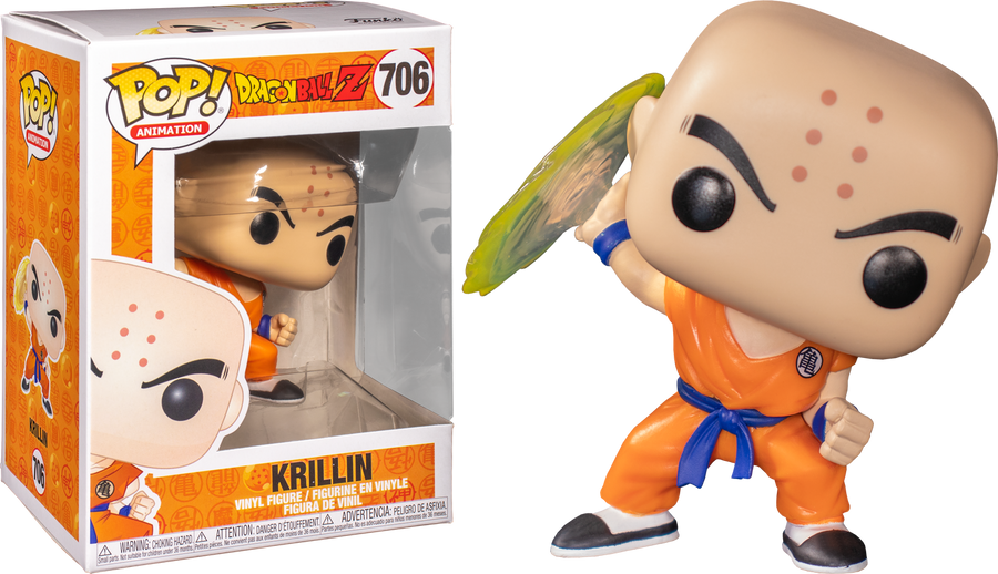 POP Animation: Dragon Ball Z - Krillin with Destructo Disc #706