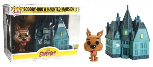 POP Town: Scooby Doo & Haunted Mansion 50 Aniversario #01