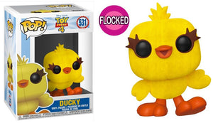 POP Disney: TOY STORY 4 - Ducky (Flocked) #531