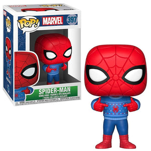 POP Marvel: Holiday - Spider-Man (w/Sweater) #4397
