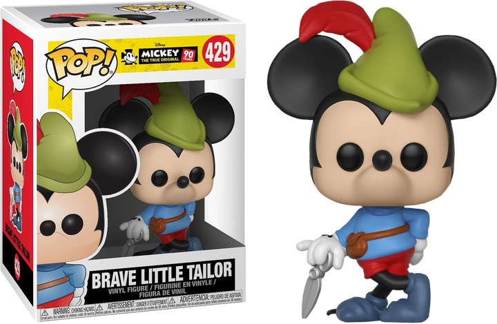 POP Disney: Mickey's 90th Birthday - Brave Little Tailor #429
