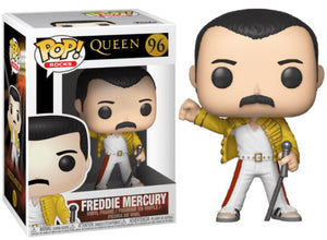 POP Rocks: Queen - Freddy Mercury (Wembley 1986) #96