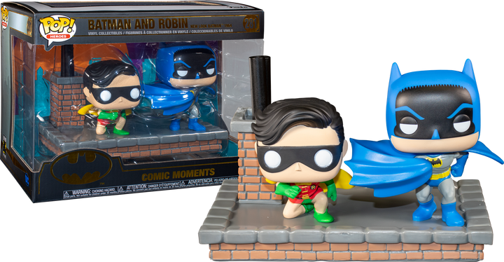 Pop Movie Moments: Batman and Robin (New Look Batman 1964) #281