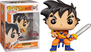 POP Animation: Dragon Ball Z - Young Gohan w/ Sword EXCLUSIVO #621
