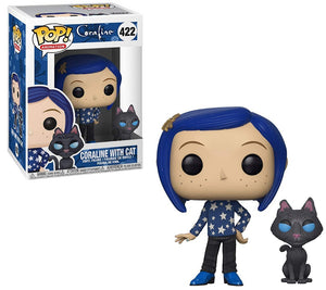 POP Movies : Coraline - Coraline (w/ Cat) #422