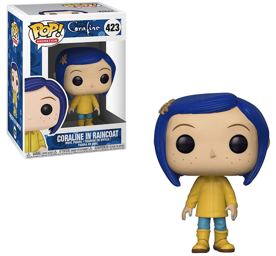 POP Movies : Coraline - in Raincoat #423