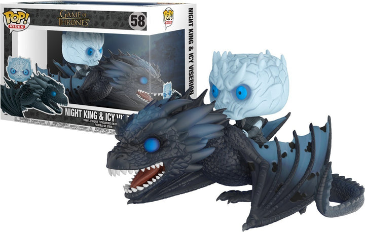 POP Rides: GOT - Night King & Icy Viserion #58