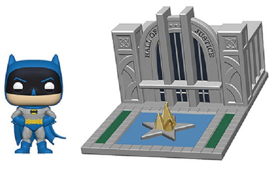 POP Heroes: Batman with the hall of justice 80 Aniversario #09