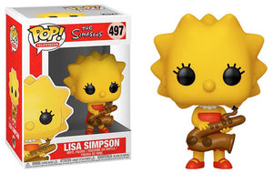 Pop TV: The Simpsons - Lisa Simpson #497