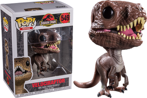 POP Movies : Jurassic Park - Velociraptor #549