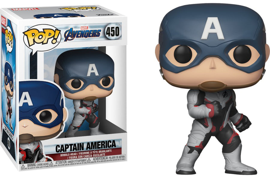 POP Marvel: Endgame - Captain America #450