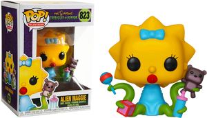 Pop TV: The Simpsons - Alien Maggie #823