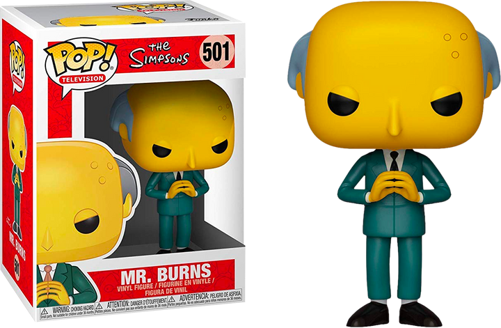 Pop TV: The Simpsons - Mr. Burns #501