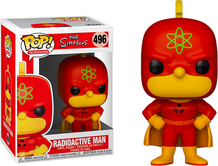 Pop TV: The Simpsons - Radioactive Man #496