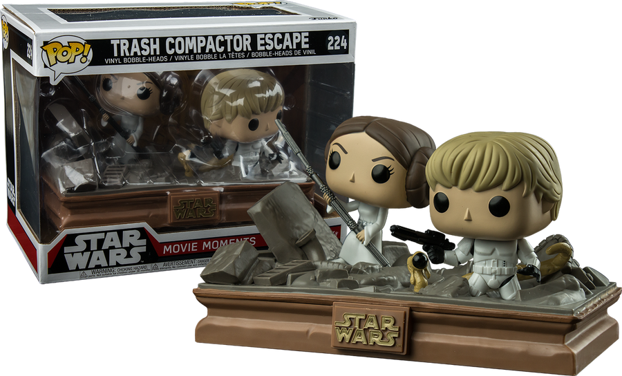 Pop Star Wars Movie Moments: Trash Compactor Escape #224