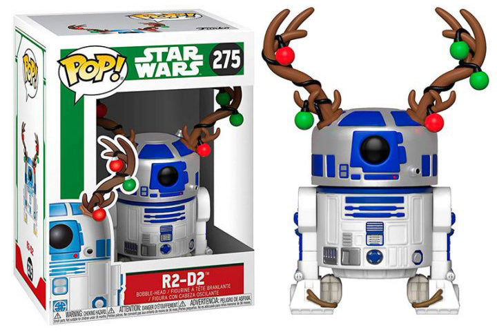 POP Star Wars : Holiday - R2D2 #275