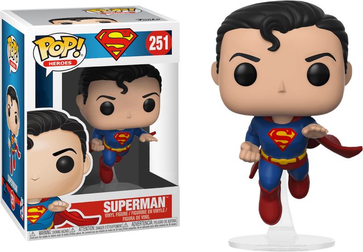 Pop Heroes: Superman Flying 80TH #251