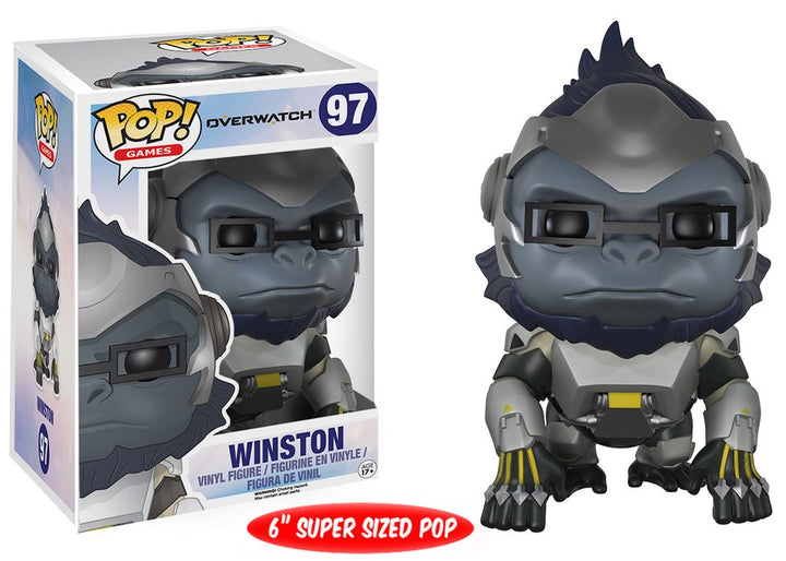 "POP Games:  Overwatch - Winston 6"" (15.24cm) #97"