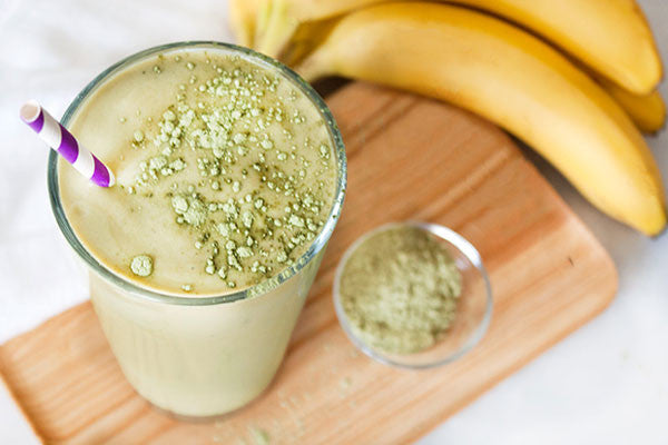 Vanilla and Matcha Smoothie - Matcha Recipe