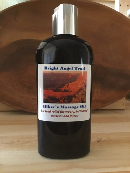 Wholesale Bright Angel Trail Hiker's Massage Oil 4oz (case of 6 bottles)