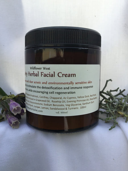 Wholesale Clarity Herbal Facial Cream (case of six 100ml jars)