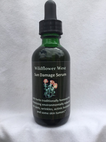 Wildflower West Sun Damage Serum 2oz