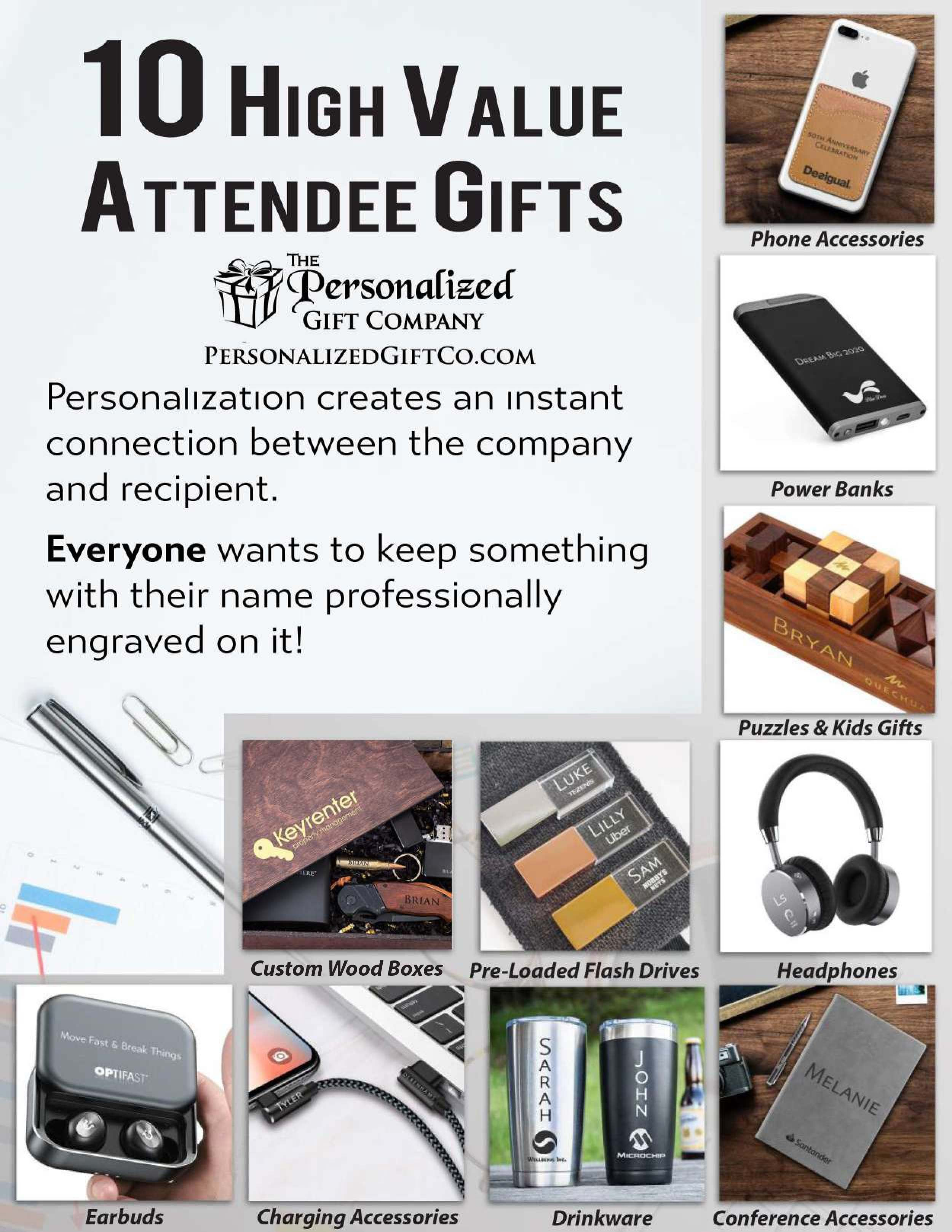 Personalized + Company Branded Team Gifts & Company Swag
