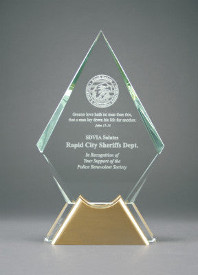 glass awards, crystal awards, corporate awards, trophies, executive awards