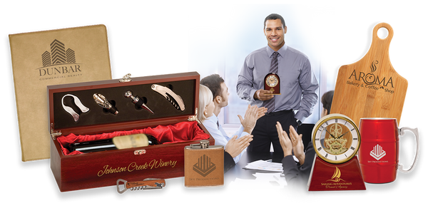 personalized gifts, employee awards, corporate gifts