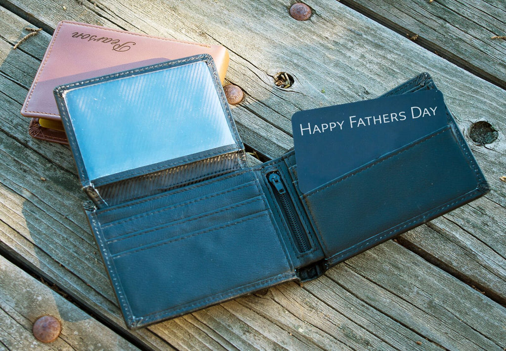 Custom Leather Wallets, Personalized Wallets for Men Tagged