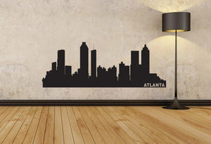 Atlanta Skyline Vinyl Wall Decal - The Personalized Gift Co. - Decals, Stickers & Vinyl Art