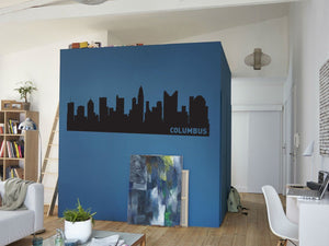 Columbus Ohio Skyline Vinyl Wall Decal
