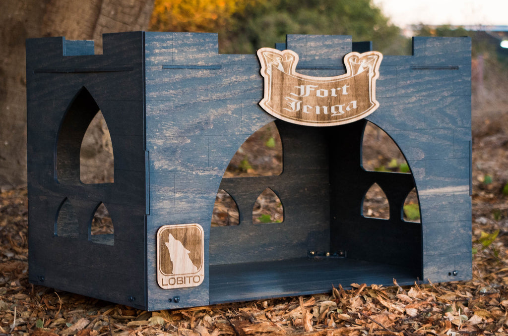 Personalized Dog Bed - Indoor Dog House / Cat House By LOBITO™