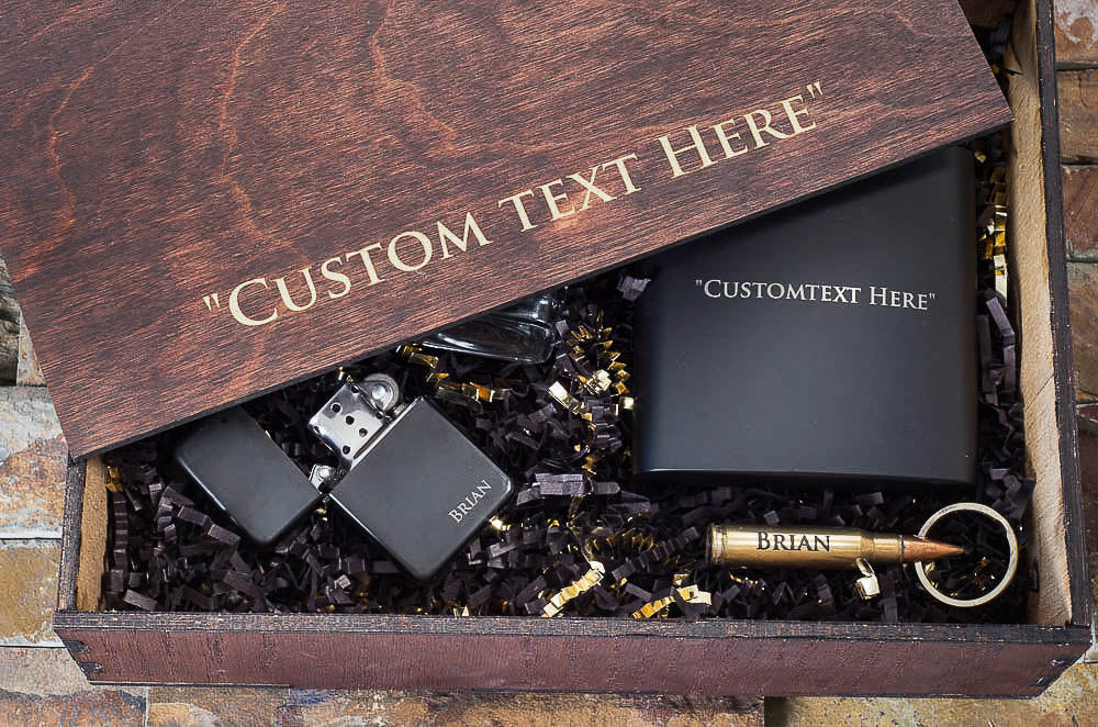 Boyfriend Gift Box Set Personalized For Christmas Gifts Men