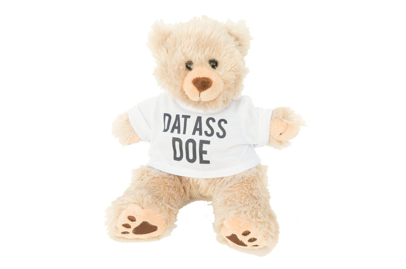 Dat Ass Doe Teddy Bear, Funny Valentines Day Gift for Her or Him, Girlfriend/Boyfriend, Birthday & Anniversary Photo Prop