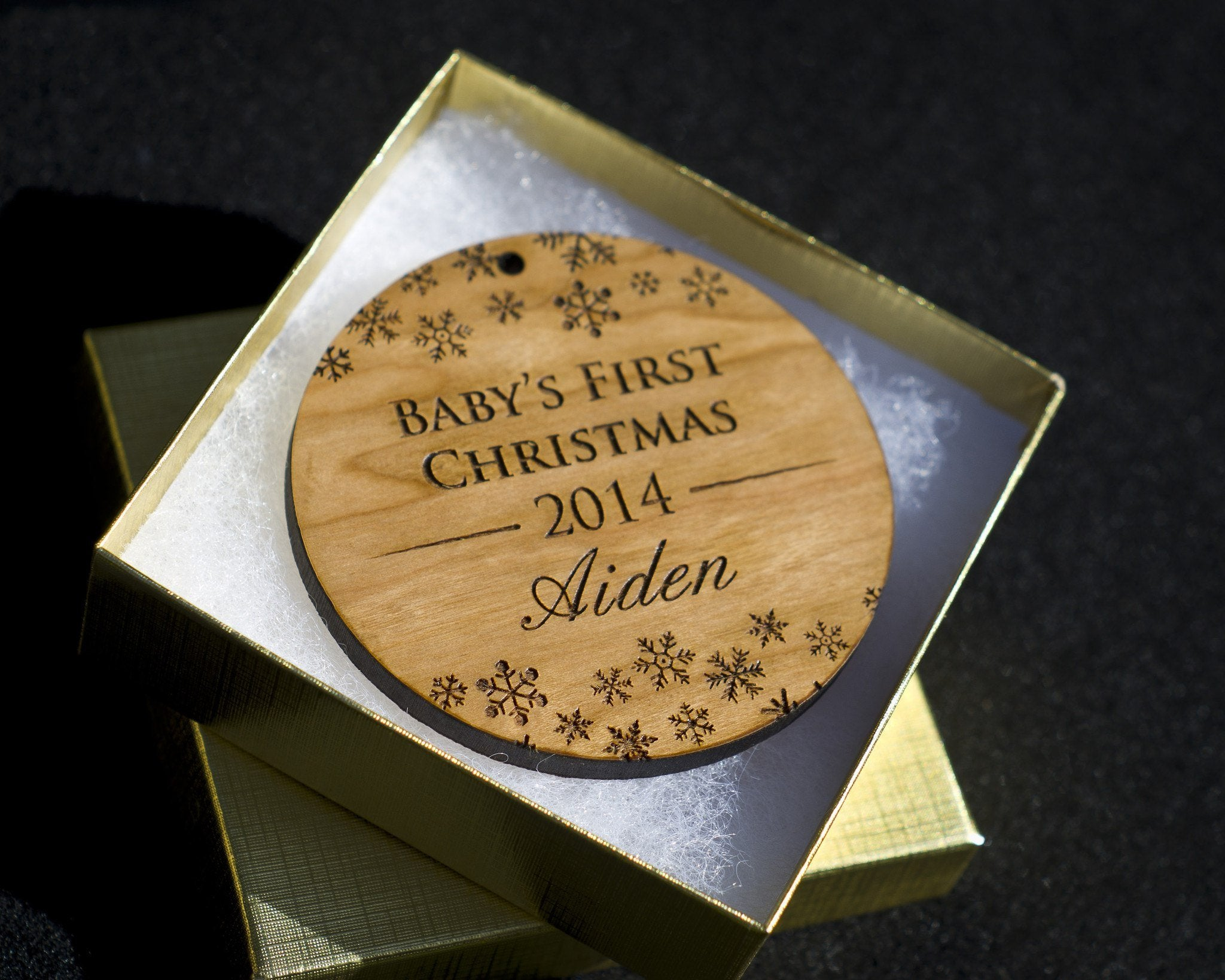 Baby's First Christmas Ornament - Personalized Christmas Ornament ...