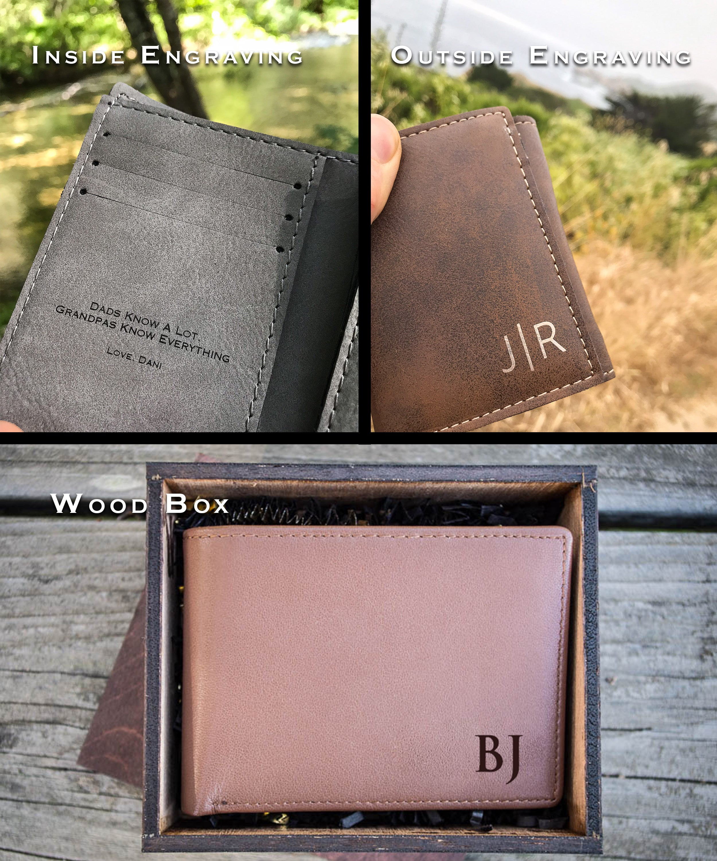 17b05fb6ac8 Custom Leather Wallets, Personalized Wallets for Men - The ...