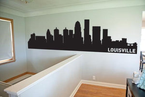 Louisville Kentucky Skyline Vinyl Wall Decal