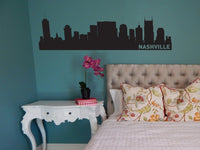 Nashville Tennessee Skyline Vinyl Wall Decal