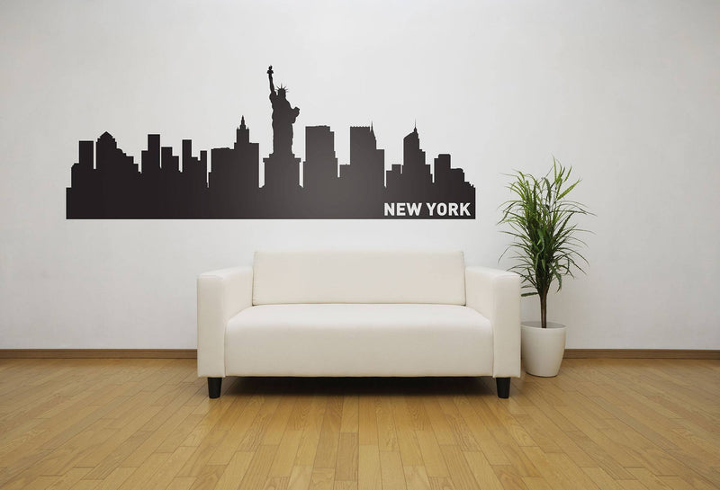 New York City Skyline Vinyl Wall Decal - The Personalized Gift Co. - Decals, Stickers & Vinyl Art