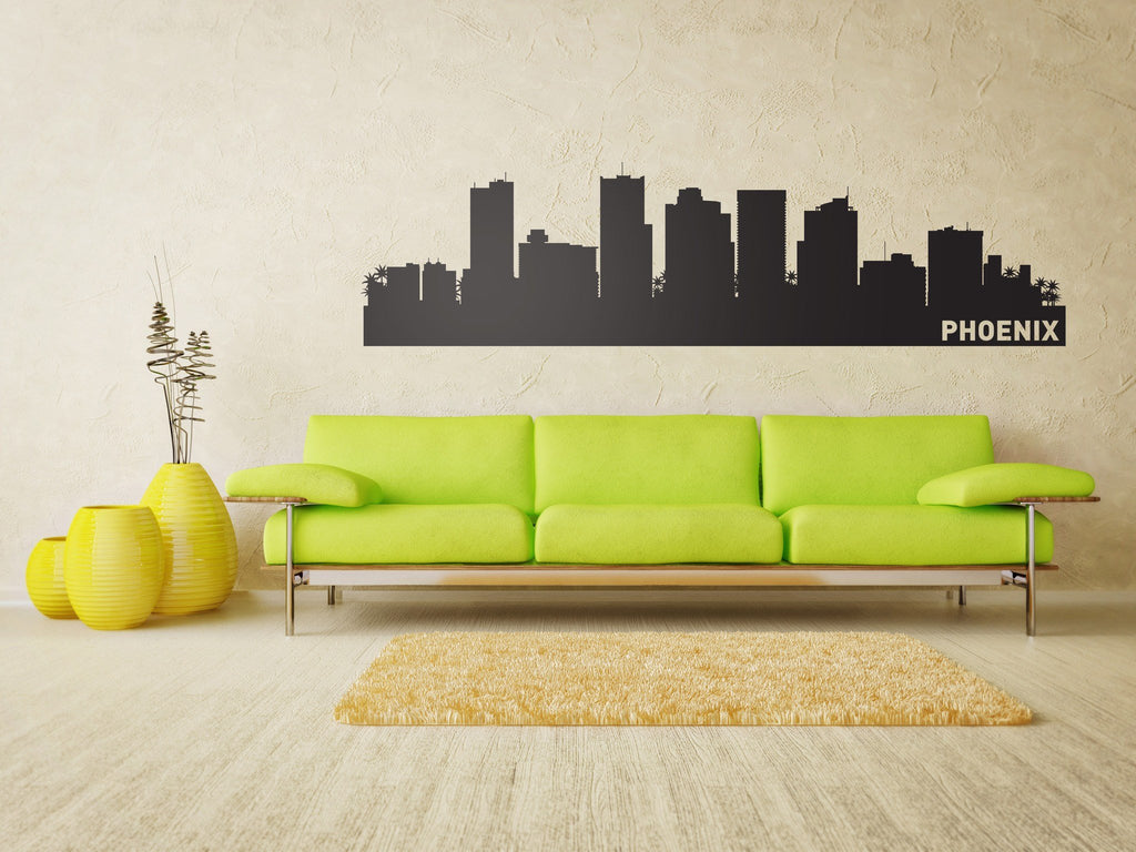 Phoenix City Skyline Vinyl Wall Decal - The Personalized Gift Co. - Decals, Stickers & Vinyl Art