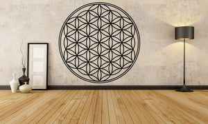 Flower of Life - Sacred Geometry Vinyl Wall Decal - The Personalized Gift Co. - Decals, Stickers & Vinyl Art - 5