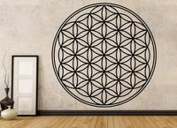 Flower of Life - Sacred Geometry Vinyl Wall Decal - The Personalized Gift Co. - Decals, Stickers & Vinyl Art - 1