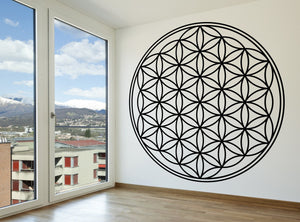Flower of Life - Sacred Geometry Vinyl Wall Decal - The Personalized Gift Co. - Decals, Stickers & Vinyl Art - 2