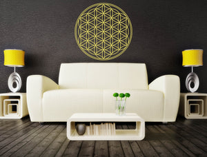 Flower of Life - Sacred Geometry Vinyl Wall Decal - The Personalized Gift Co. - Decals, Stickers & Vinyl Art - 3