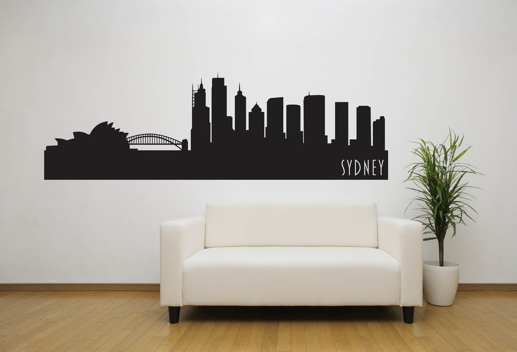 Sydney Australia Skyline Vinyl Wall Decal